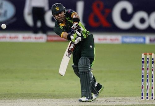 Shehzad fined 50 percent of fee for pushing Dilshan