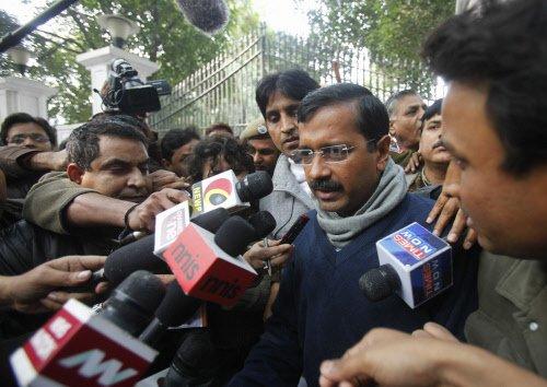 No rift in party, says Kejriwal