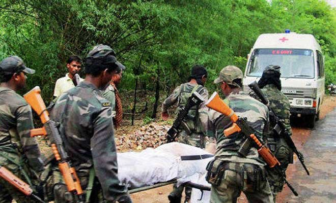 Maoists blow up office building in Malkangiri