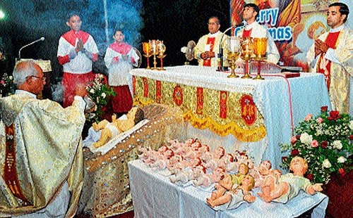 Christians celebrate Christmas with great pomp, gaiety