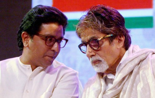Mumbai: Security outside Big B's houses fearing SP, BSP protest