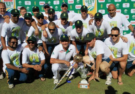 South Africa extends lead as the No.1 Test side