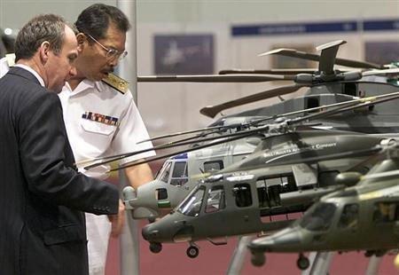 Agusta denies wrongdoing in chopper deal