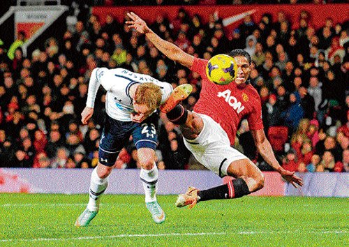 Spurs too hot for Man United