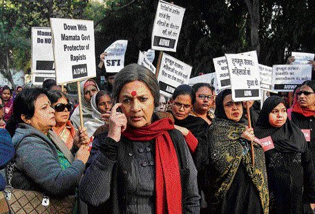 WB finally wakes up to gang-rape case