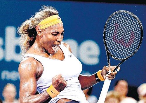 Serena power flattens Sharapova