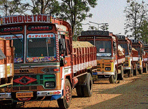 Lorry owners  to intensify  stir from Jan 11