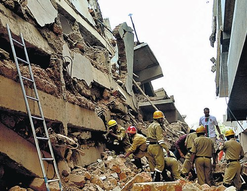 14 killed in Goa building collapse, many trapped