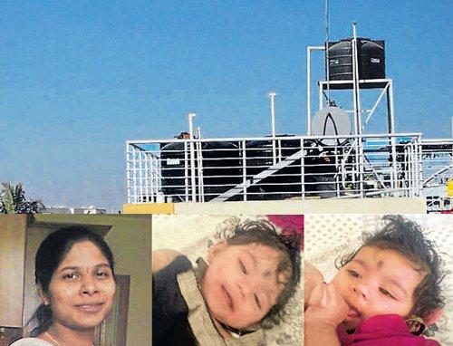 Woman, kids found dead in water tank