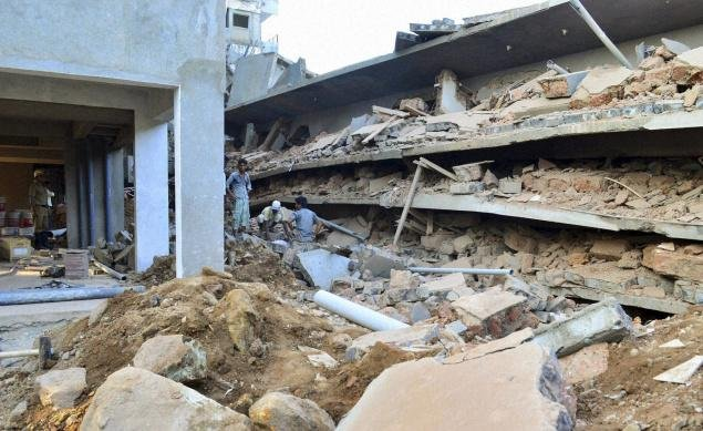 Goa building collapse: Possibility of finding survivors bleak