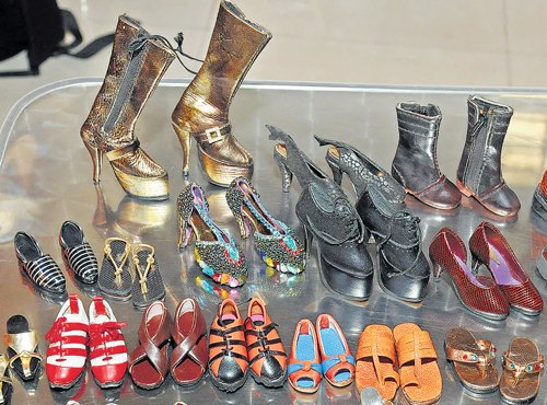 Stepping into miniature shoes