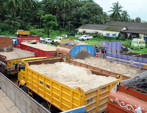 'Cops asked not to interfere in sand mining issue'