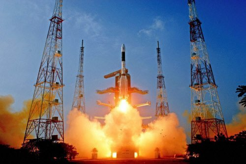 GSLV D5 with indigenous cryogenic tech launched