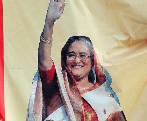 Awami League gains majority in Bangladesh polls