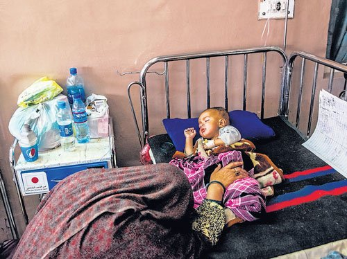 Now, curse of hunger and malnutrition stalks Afghans