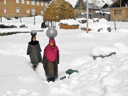 Cold wave intensifies in UP, Rajasthan