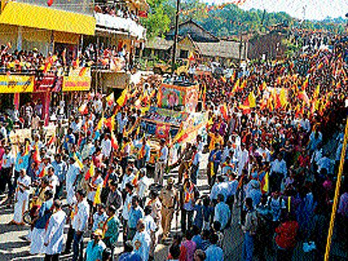 State culture, tradition comes alive at Madikeri literary meet