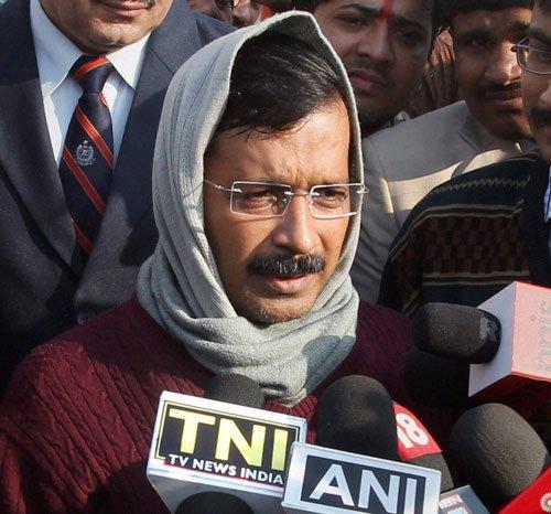 Do they want to kill Bhushan, asks Kejriwal