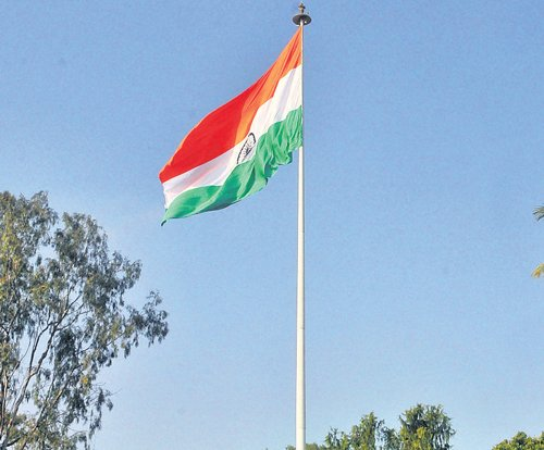 Mega National Flag to be hoisted in City