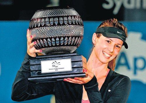 Pironkova claims first WTA crown