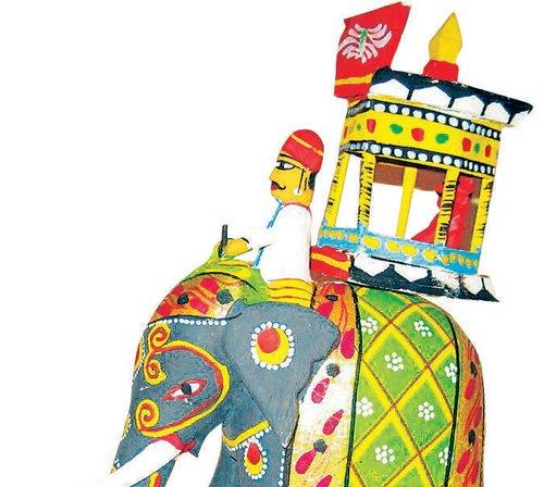 Tales that Kondapalli toys narrate