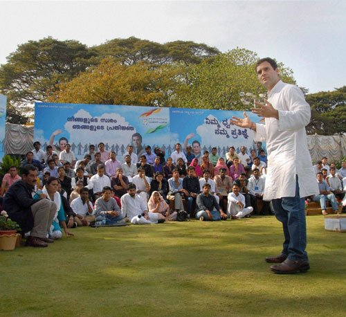 We work more but not good at marketing: Rahul