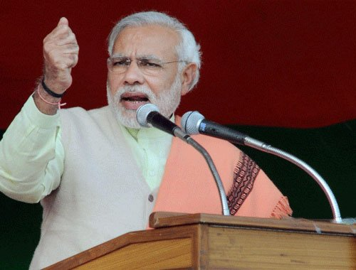 Modi attacks Shinde for his proposal on arrest of minority