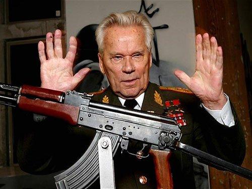 'Kalashnikov repented AK-47 invention before death'
