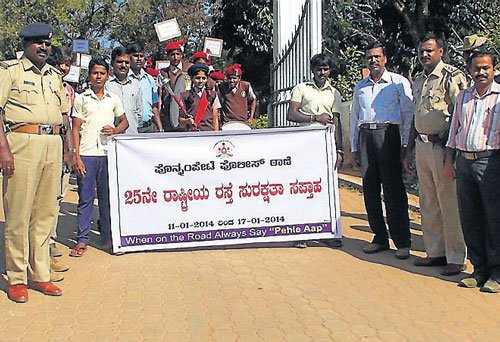 Road safety rally held