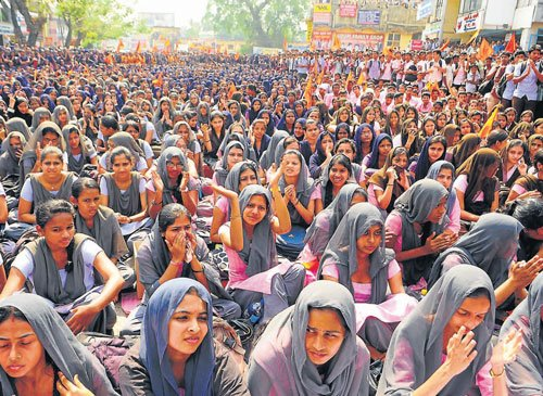Invoke rape charges in Udupi case, students demand