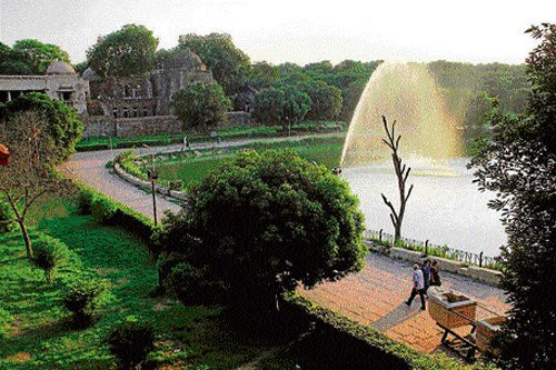 Your city of beautiful lakes, picnic spots