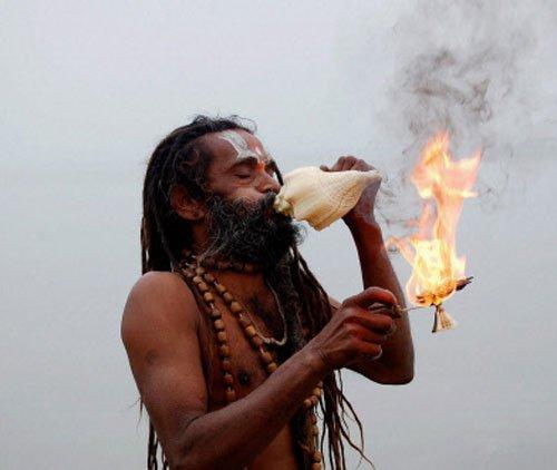 India in festive mood, celebrates onset of harvest season