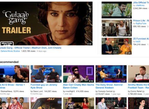 'Gulaab Gang' trailer crosses 1.5 million hits