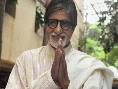 Proud of India being declared polio-free: Amitabh