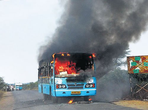 Cop's death sparks clashes