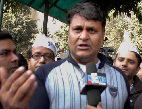 Dissidence rocks Aam Aadmi Party
