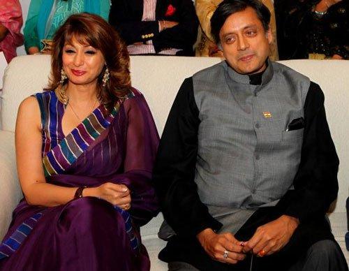 Twitter war between Tharoor's wife and Pak scribe