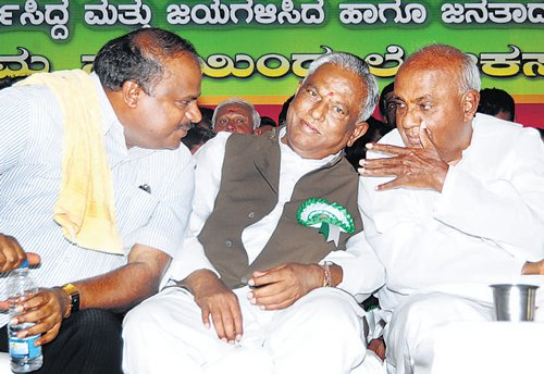 'Reluctant' Gowda to contest from Hassan
