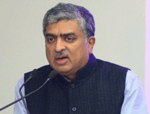 Nilekani certain to be Cong candidate for B'lore South