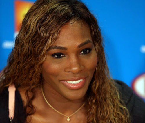 Not the end of the world, says Serena