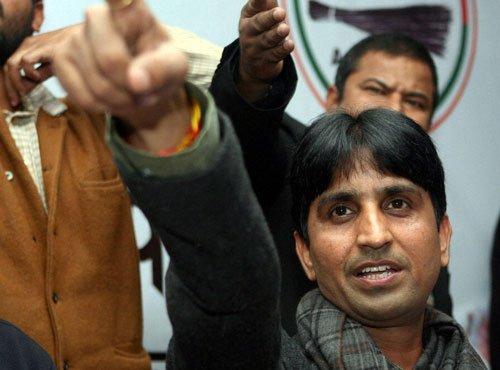 Kumar Vishwas booked in Lucknow