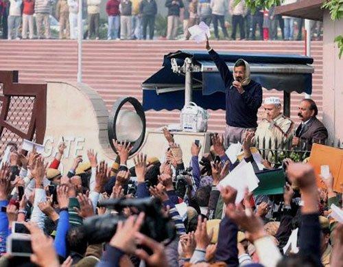 Despite protest, Delhi government will run smoothly: Kejriwal