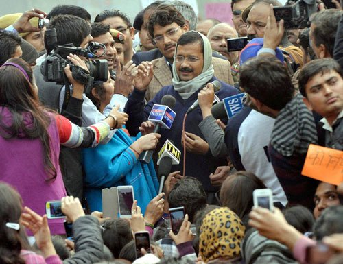 Aam Aadmi Party protest leaves Delhi's aam aadmi in a huff