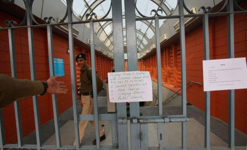 Two Metro stations to shut Tuesday
