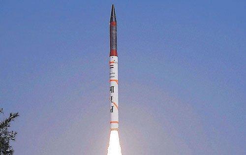 Agni IV successfully test-fired off Odisha