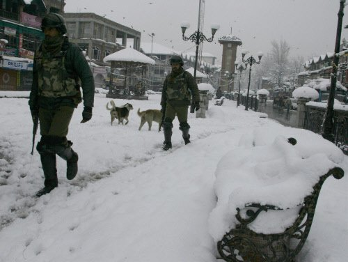 Srinagar city affected by separatist shutdown