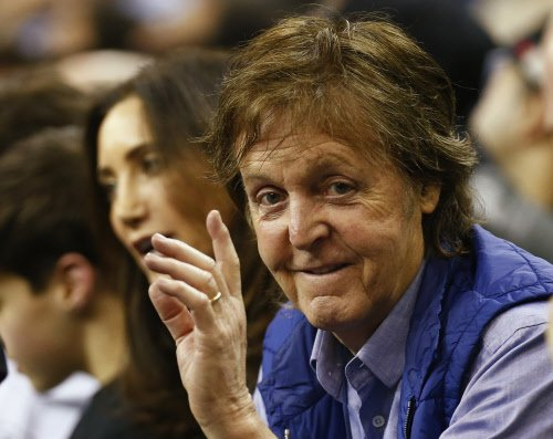 Beatles' McCartney, Starr to reunite at the Big Show