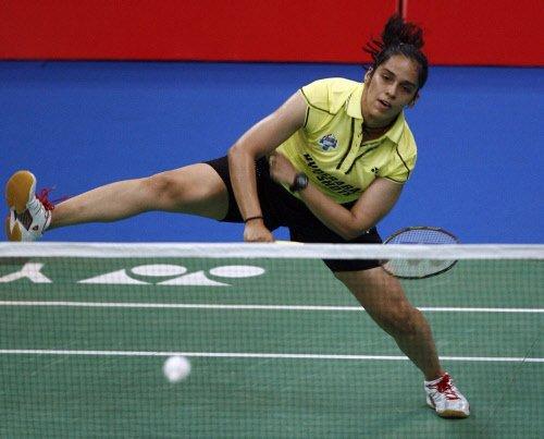 Saina, Sindhu progress, defending champion Kashyap out
