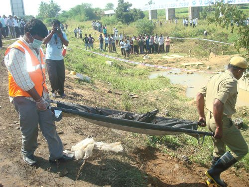 8 killed, 4 injured as car falls into rivulet