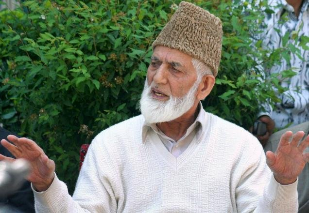 Geelani donates property to trust consisting kith and kin